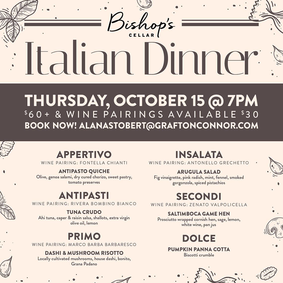 Italian-dinner_Five-Fishermen